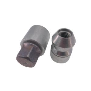 Levando Radmutter 4x Felgenschloss + 2 Schlüssel M12x1,5x33 Kegel 60° silber