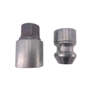Levando Radmutter 4x Felgenschloss + 2 Schlüssel M14x1,5x33 Kegel 60° silber