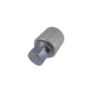 Levando Radschrauben 4x Felgenschloss + 2 Schlüssel M14x1,5x27 Kegel 60° silber