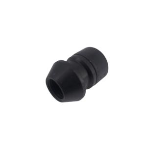 Levando Radmutter 4x Felgenschloss + 2 Schlüssel M14x1,5x33 Kegel 60° schwarz