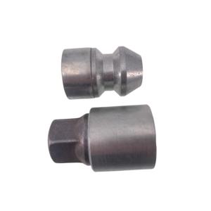 Levando 20x Radmutter 4x Felgenschloss + 2 Schlüssel M14x1,5x33 Kegel 60° silber