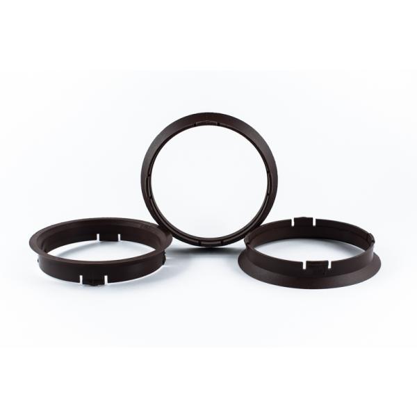 4 Zentrierringe 74,1mm auf 70,1mm Kunststoff