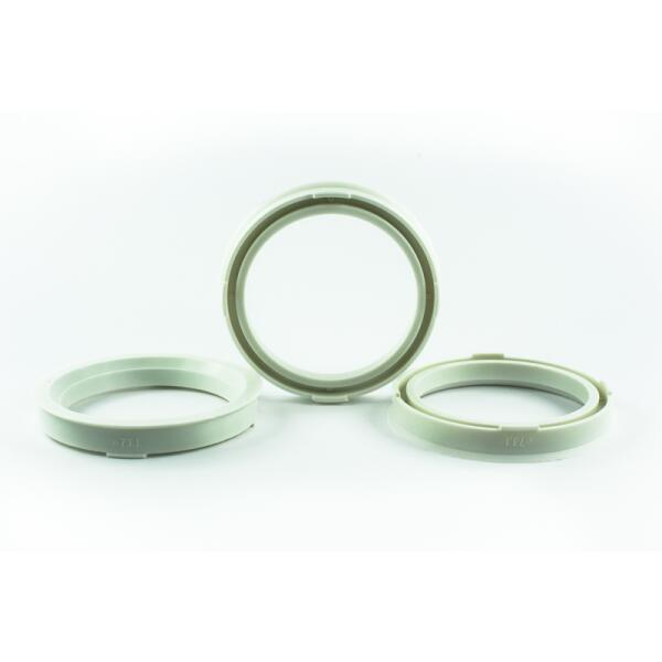 4 Zentrierringe 73,1mm auf 58,1mm Kunststoff