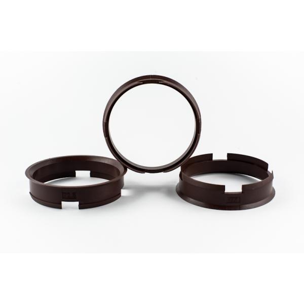 4 Zentrierringe 72,6mm auf 66,6mm Kunststoff
