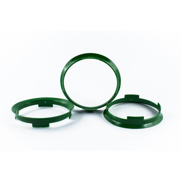 4 Zentrierringe 70,4mm auf 67,1mm Kunststoff