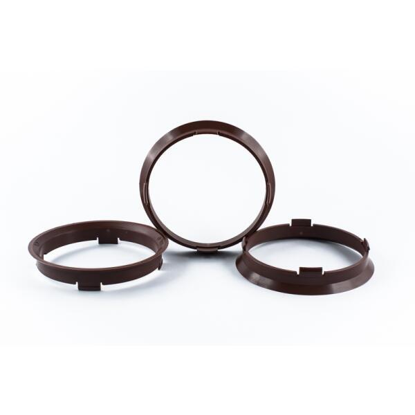 4 Zentrierringe 70,4mm auf 66,6mm Kunststoff