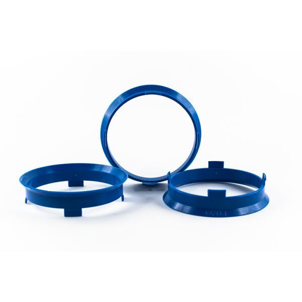4 Zentrierringe 70,1mm auf 66,4mm Kunststoff