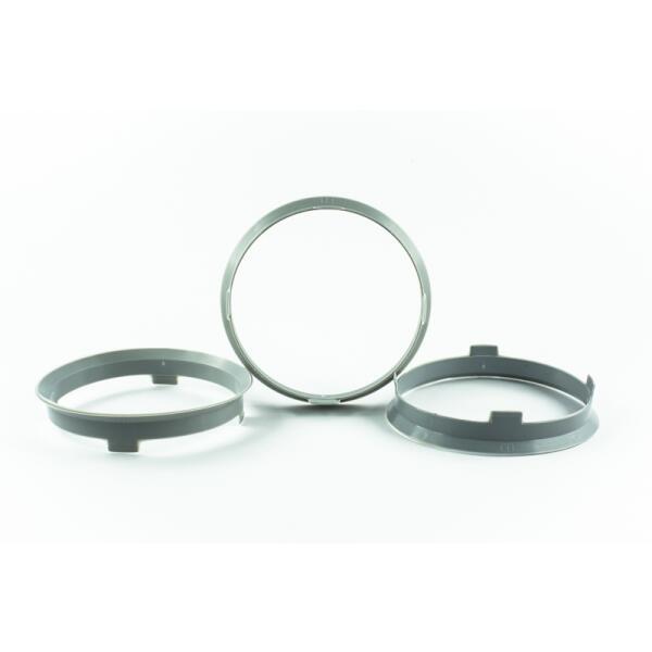 4 Zentrierringe 67,1mm auf 65,1mm Kunststoff