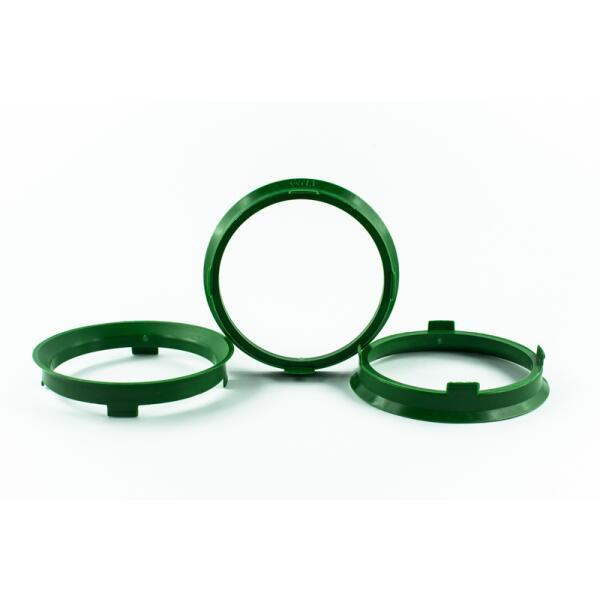 4 Zentrierringe 67,1mm auf 60,1mm Kunststoff